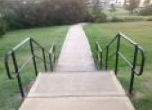 Kwikfynd Disabled Handrails uppernatone